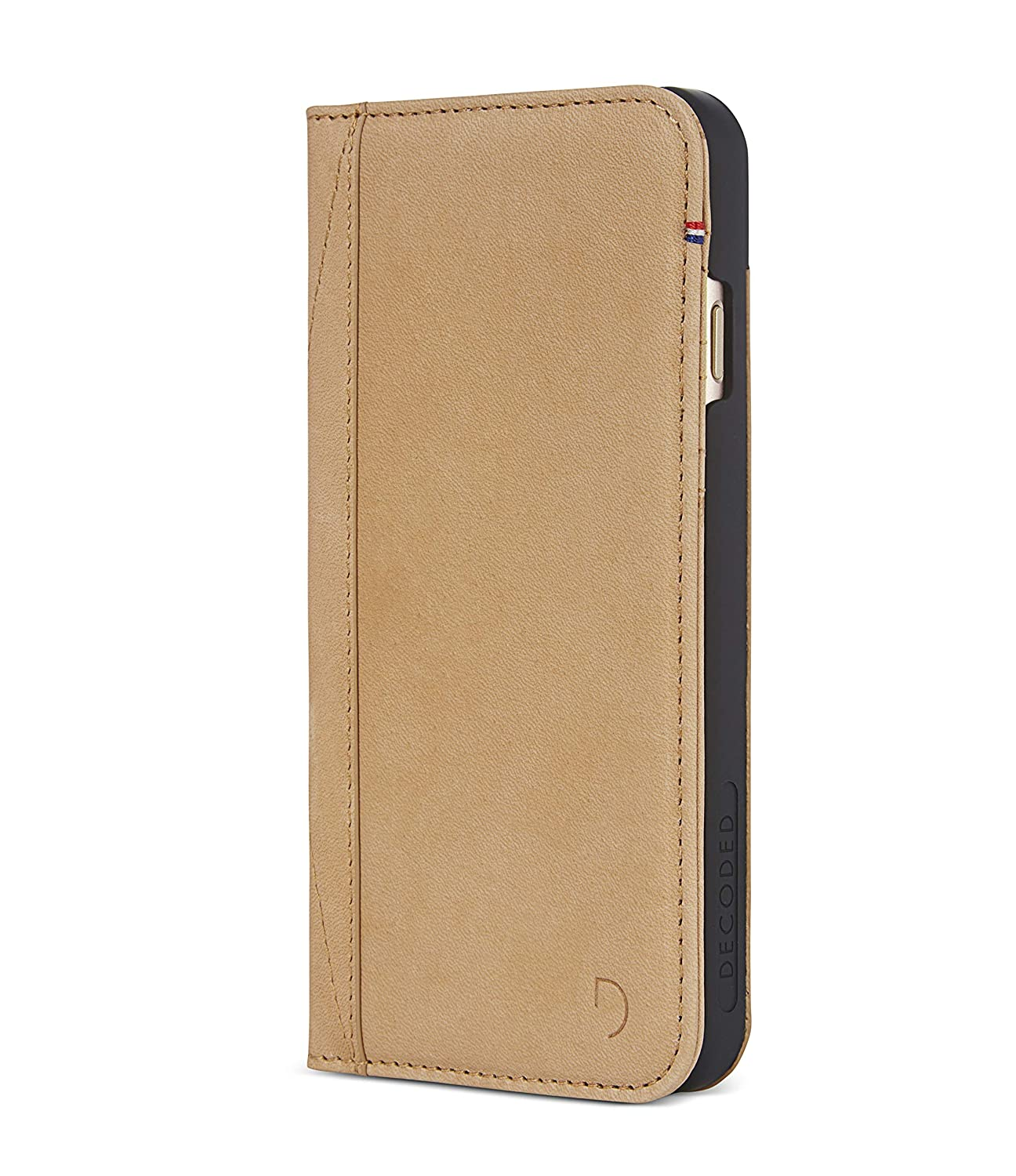 new concept 8a476 eef31 Decoded iPhone 7 Leather Wallet Brown