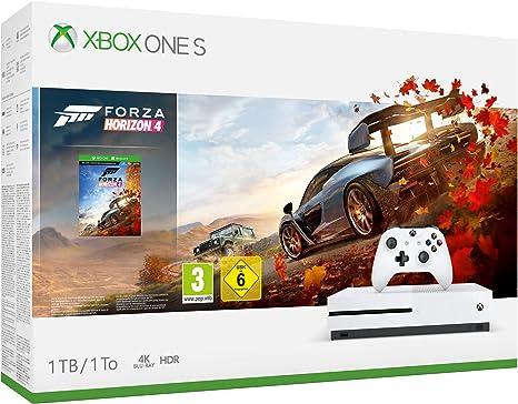 Xbox One S 1TB + Forza Horizon 4 + 14gg Xbox Live Gold + 1 Mese ...