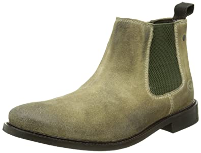 Amazon.com | Base London Mens Scuttle Suede Boots | Boots