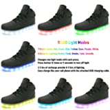 APTESOL Kids Youth LED Light Up Sneakers Boys Girls