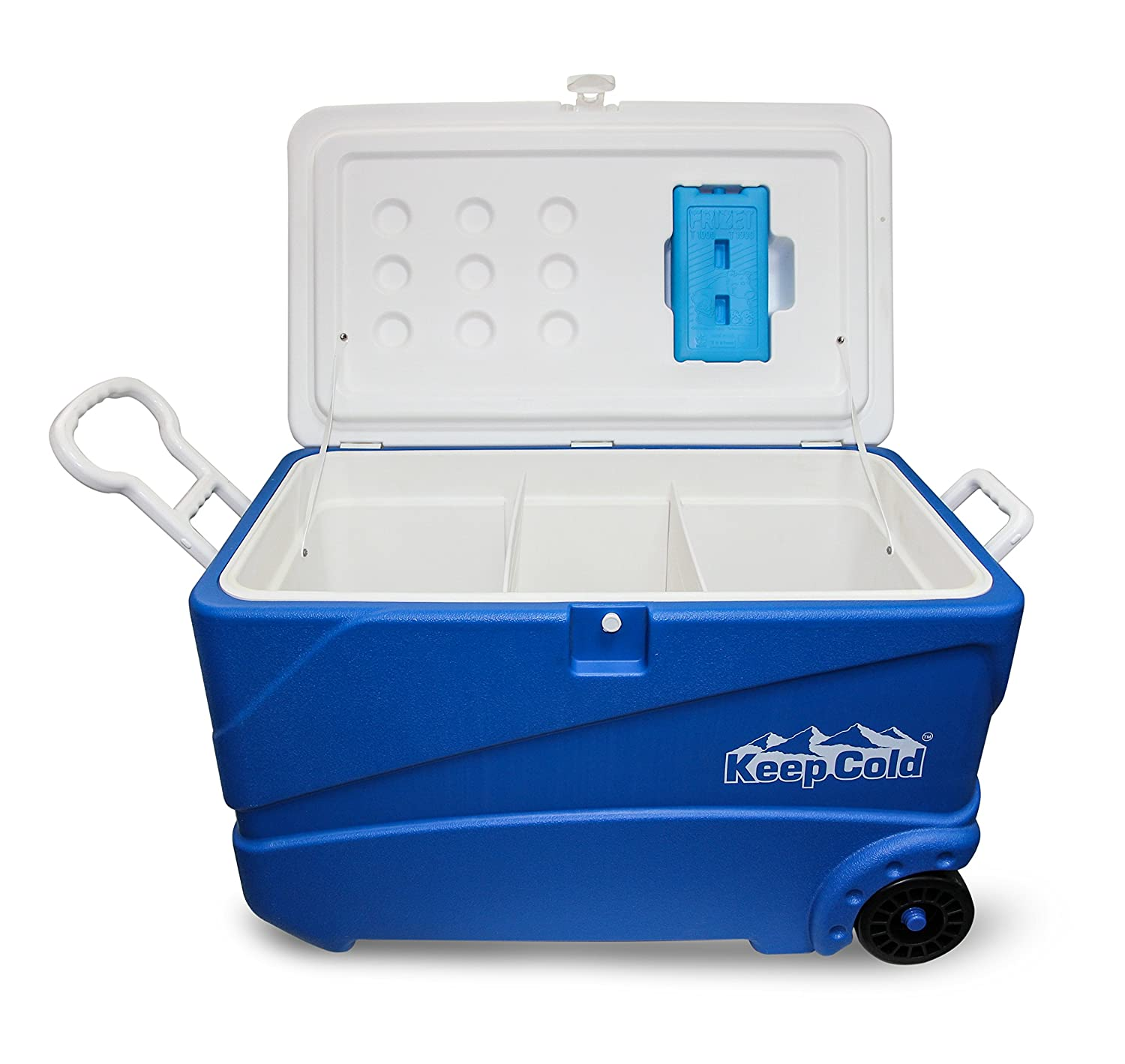 Keepcold mfibxx100 Premium IceBox 80 – navy blau