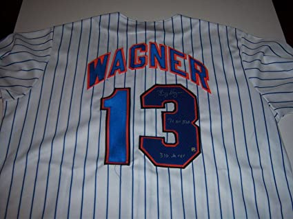 727a5fc3 Billy Wagner Signed Jersey - braves 310 Saves 7x Allstar holo ...