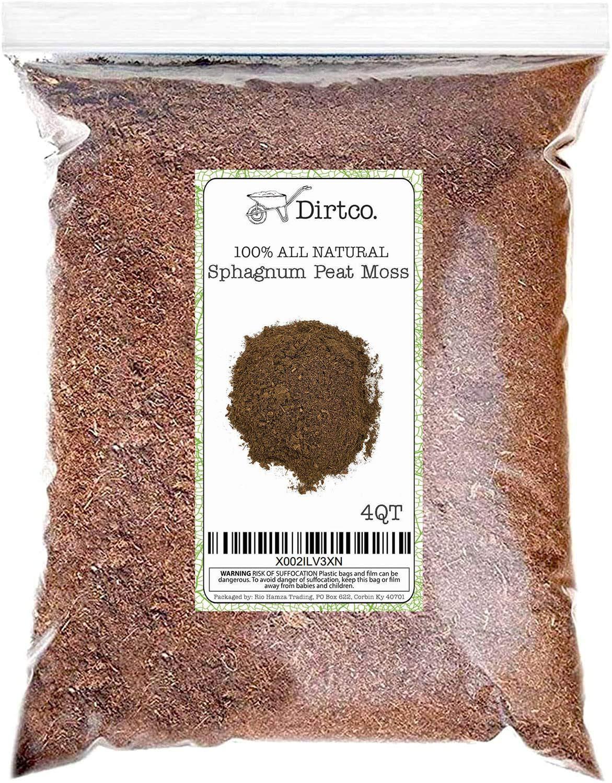 10 Quarts Hoffman 15503 Canadian Sphagnum Peat Moss