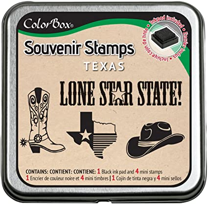 CLEARSNAP ColorBox Souvenir Stamps, Texas
