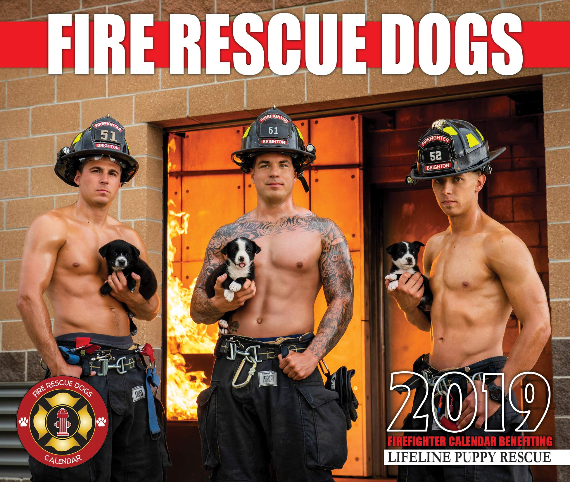 2019 Fire Rescue Dogs Calendar