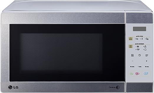 LG - Microondas Mb3942U, 19L, Grill Simultaneo, Silver: Amazon.es ...