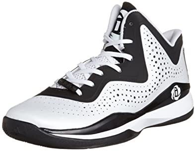 ba048410b adidas D Rose 773 III Mens Basketball Shoe 11.5 White-Black