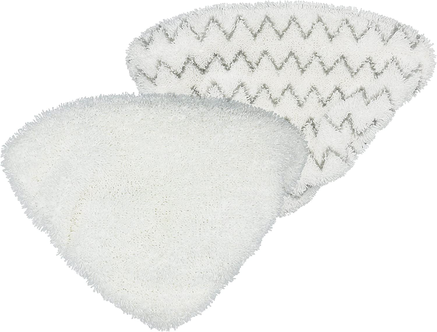 2 Soft + 2 Scrubby N//T Yweller Replacement Washable Steam Mop Pads Compatible with issell PowerEdge Lift Off 2-in-1 Series 2078 20781 2165 Steam Mop Cleaner 4 Pack