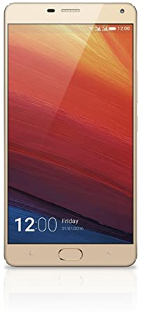 Gionee Marathon M5 Plus (Champagne Gold) Smartphones at amazon