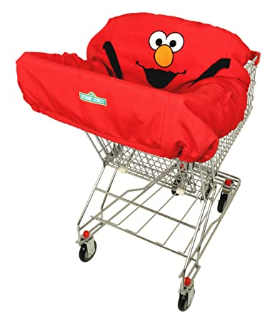 Attractive ABC Fun Pads Shopping Cart Cover, Elmo