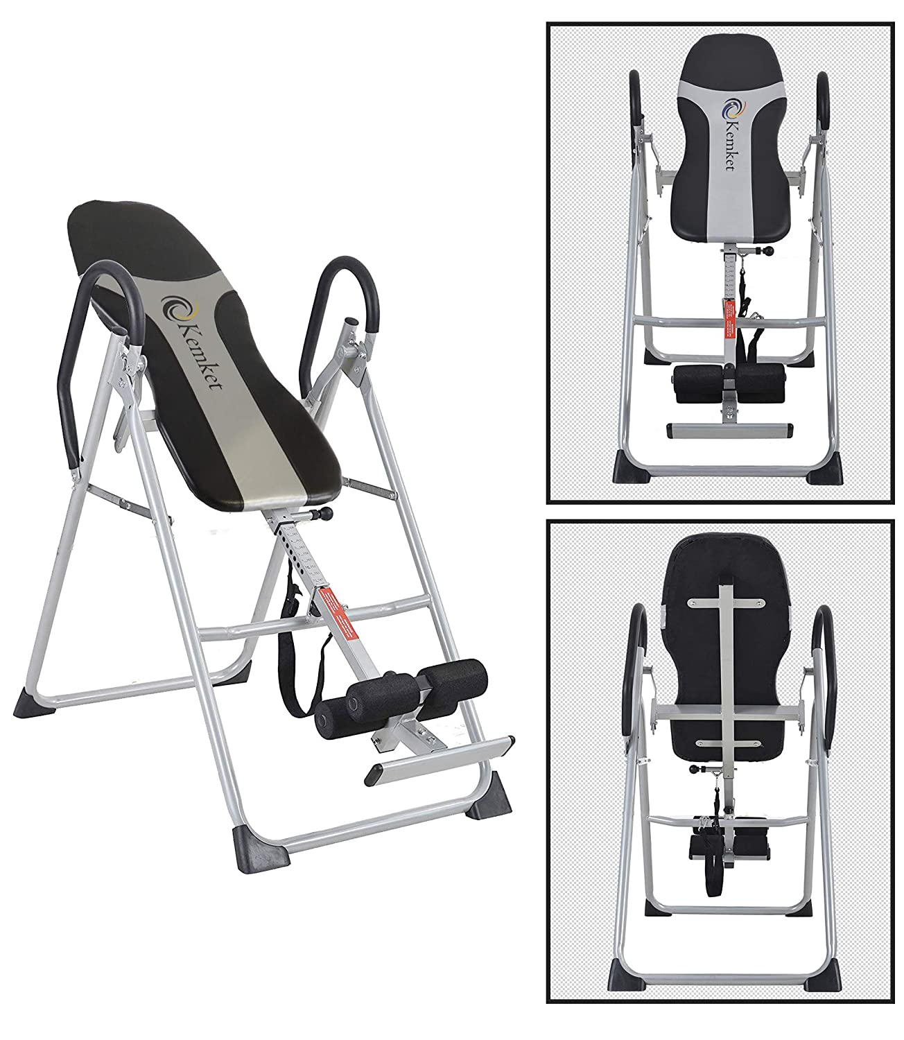 Kemket Inversion Table Back Therapy Fitness Reflexology Equipment AST-02Q Inversion Table Inversion Machine With Comfort Backrest