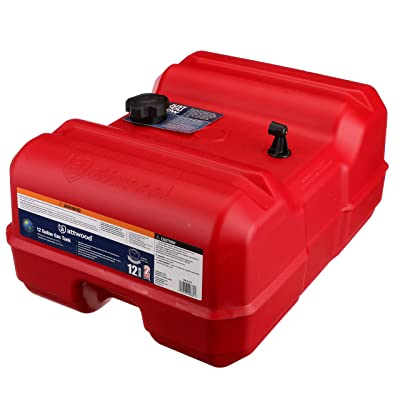 Attwood 8812LLP2 Epa Certified Portable Fuel Tank 12 gallon : Boat Fuel Tanks : Sports & Outdoors