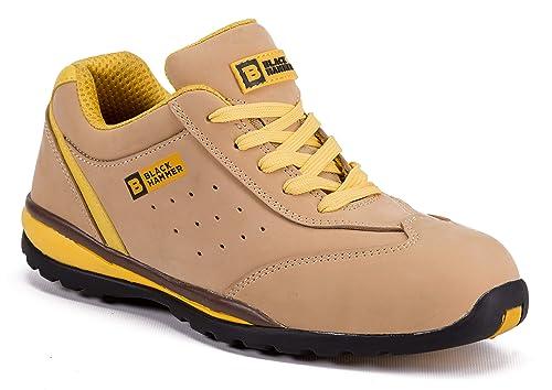 Zapatillas Deportivas de Seguridad para Hombres Puntera S1P SRC Calzado de Trabajo Botines para senderistas Protección Entresuela 4007: Amazon.es: Zapatos y ...