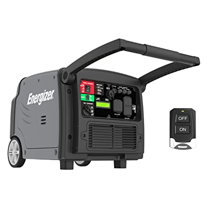 amazon com energizer ezv3200p quiet 3200 watt portable inverter rh amazon com remote start generators honda 3000 remote start honda 3000 generator