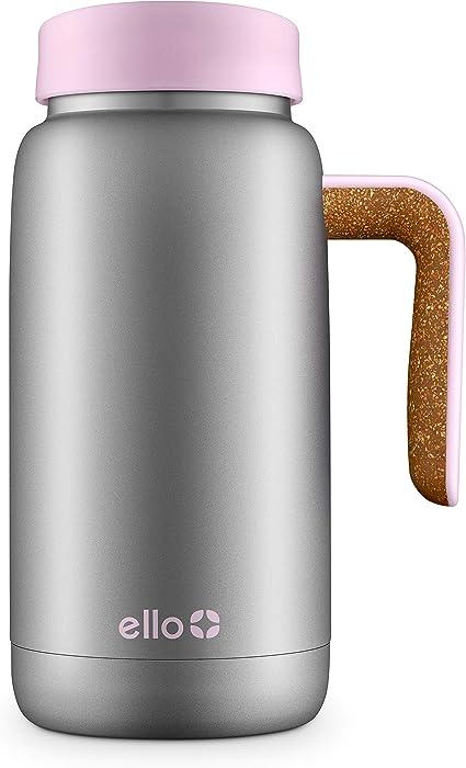 Ello Juno 18oz Vacuum Insulated Stainless Steel Travel Mug