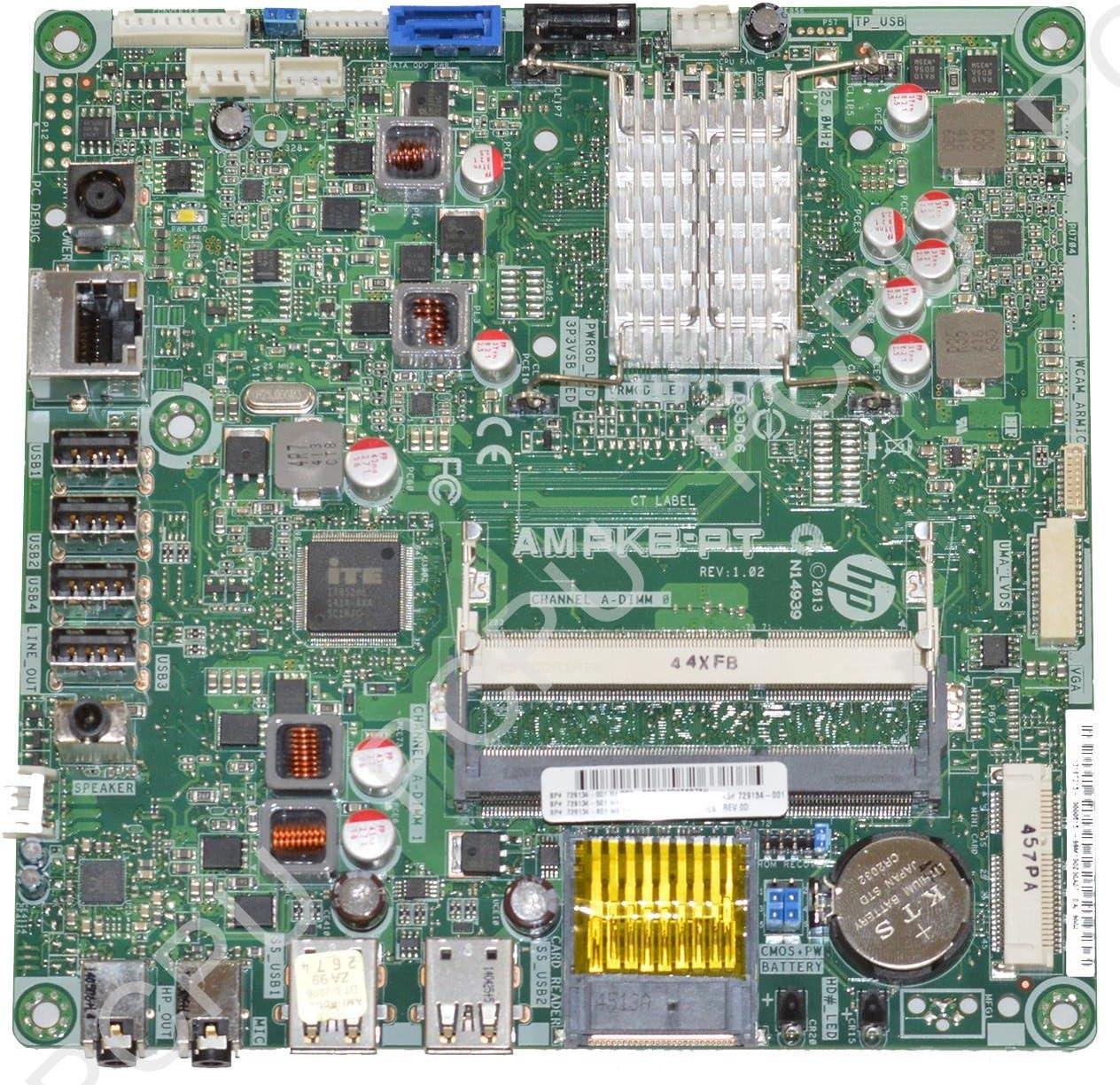 729134-001 HP TS 19 Daisy Kabini AIO Motherboard w//AMD E1-2500 1.4GHz CPU
