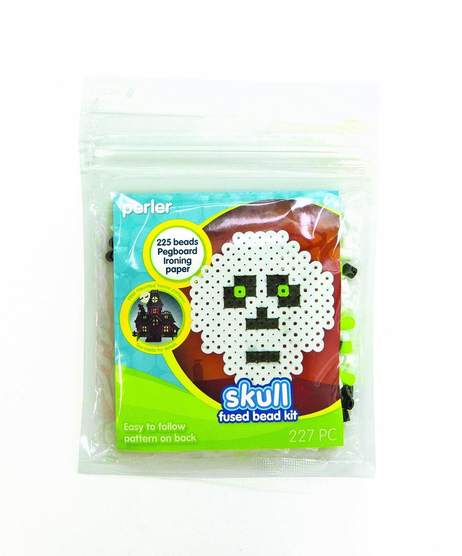 Perler Fused Beads Kit, Skull Perler Beads 80-52898