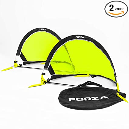 Forza Flash Pop Up Soccer Goal   Ultimate Pro Portable Soccer Nets With  Carry Bag
