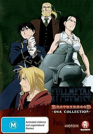 Fullmetal Alchemist Brotherhood Ova + Chibi Shorts Edizione: Australia Italia DVD: Amazon.es: Cine y Series TV