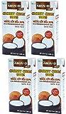 Aroy-D 100% Coconut Cream 33oz (4 Pack)