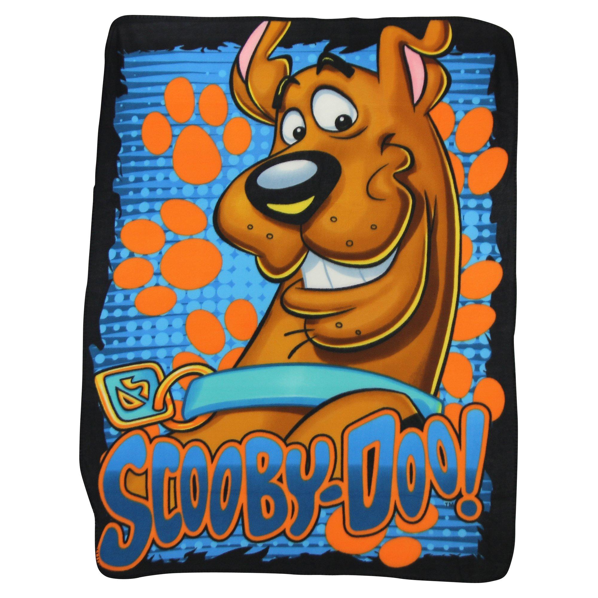 Northwest Kids Fleece Throw Blankets 45'' x 60'' Several Options (Scooby Doo)
