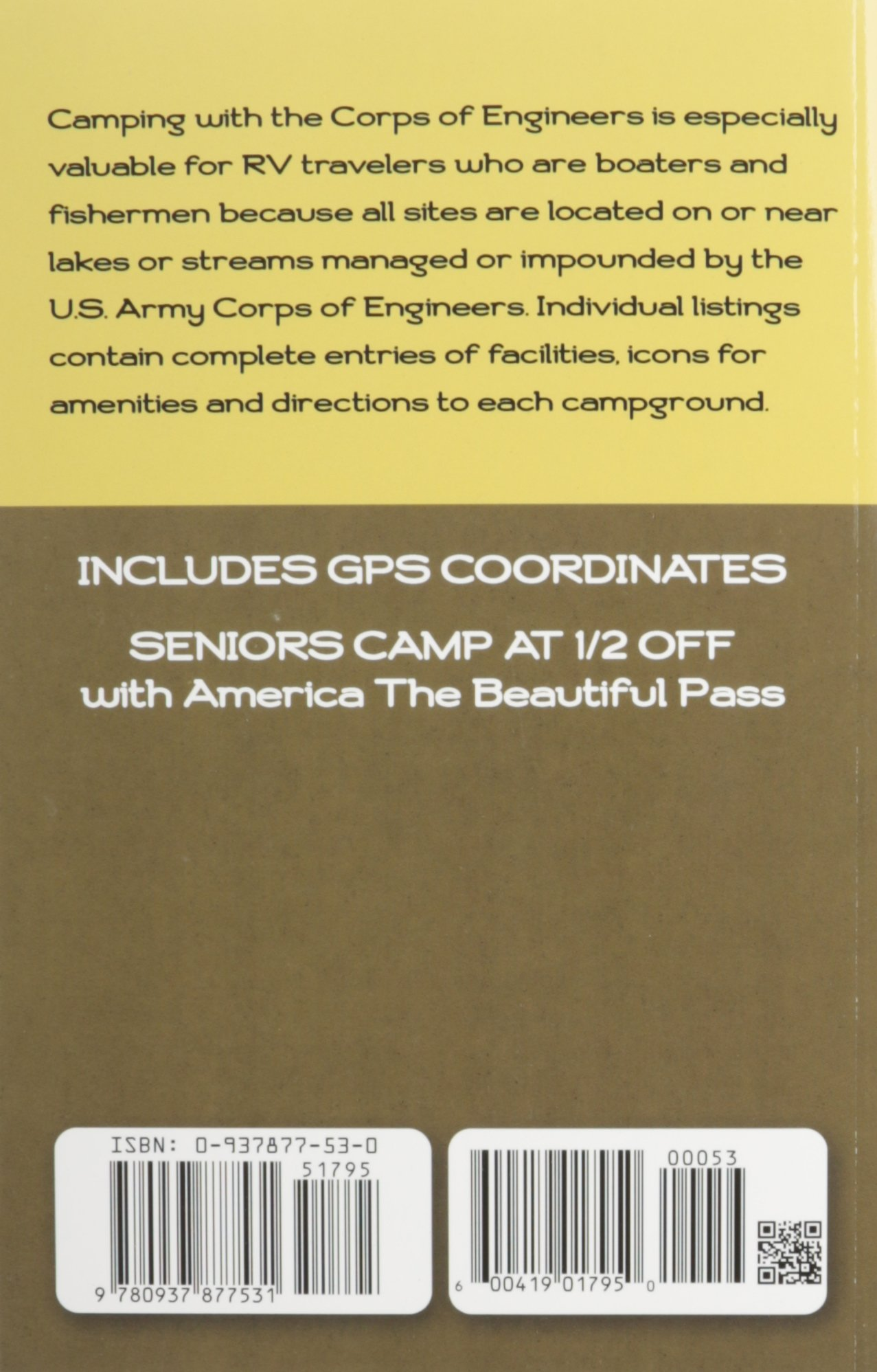 Camping With the Corps of Engineers: The Complete Guide to Campgrounds Built  and Operated by the U.S. Army Corps of Engineers: Don Wright:  9780937877531: ...