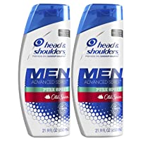 Head and Shoulders Shampoo, Anti Dandruff Treatment and Scalp Care, Old Spice Pure...