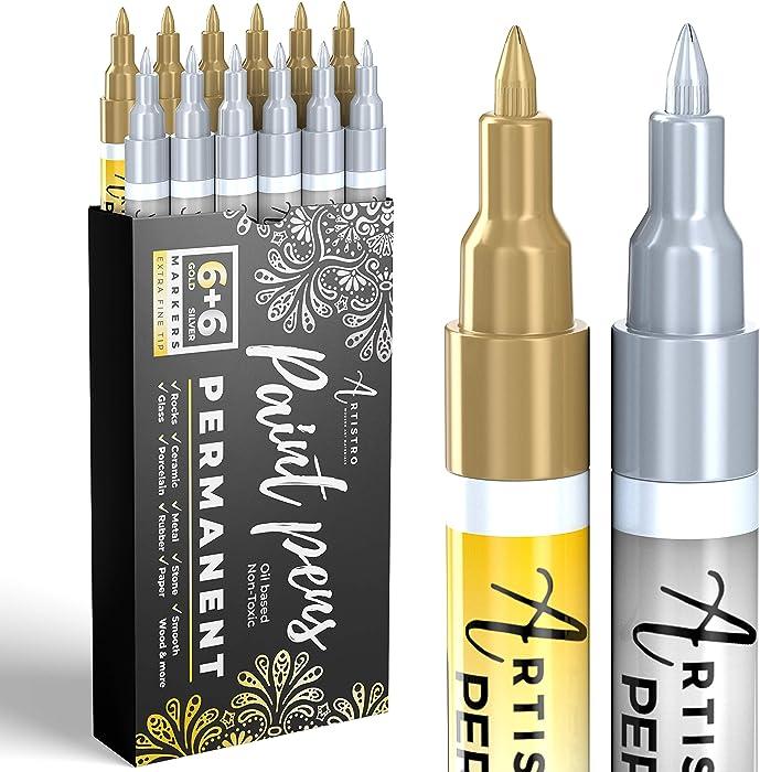 Top 9 Food Pen Metalic