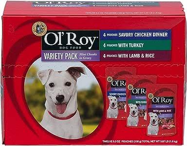 Ol Roy Gourmet Pack de Comida para Perro, 12 CT: Amazon.es ...