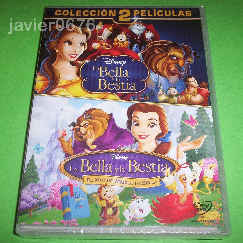 Pack 2 peliculas: La Bella y la Bestia + El mundo mágico de Bella ...