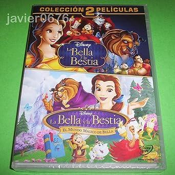Pack 2 peliculas: La Bella y la Bestia + El mundo mágico de Bella DVD: Amazon.es: Cine y Series TV