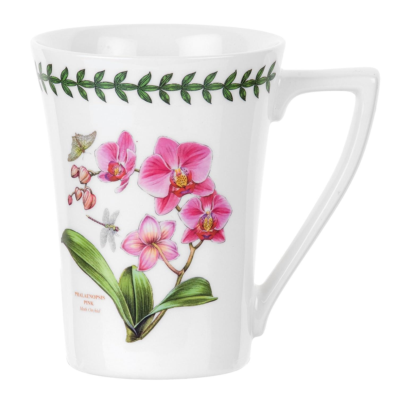 Portmeirion Exotic Botanic Garden Mandarin Mug with Orchid Motif Portmeirion USA 520356