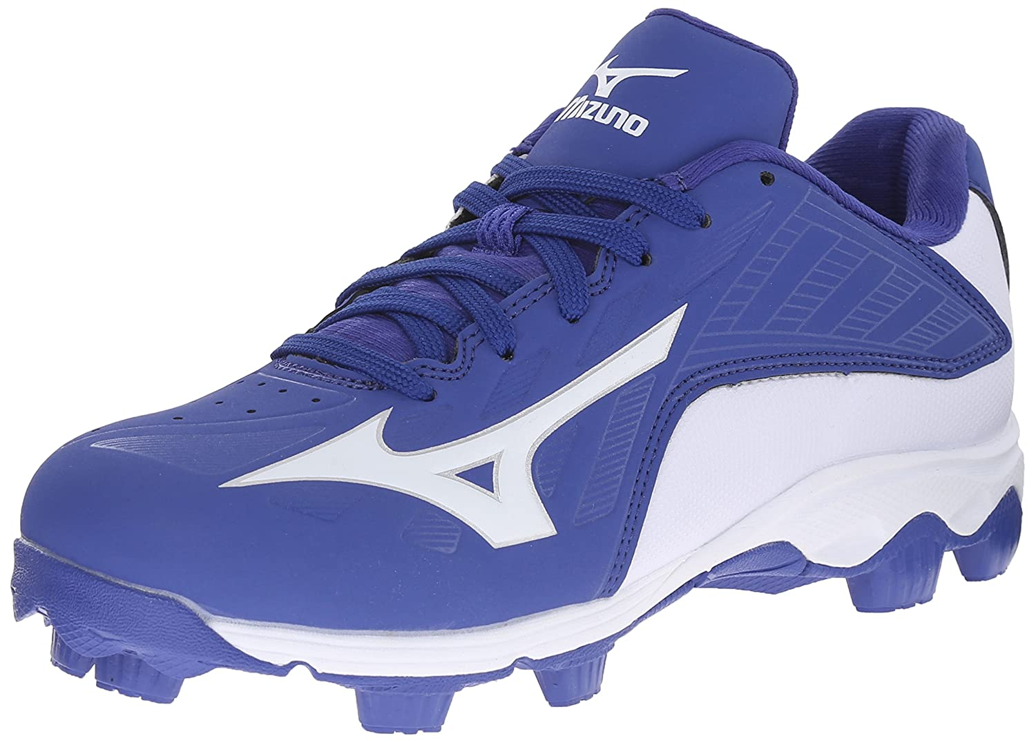 Mizuno Blue baseball cleats exclusive photo