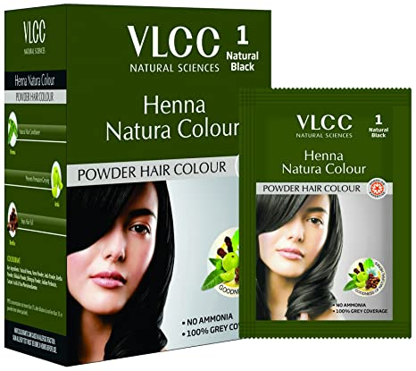 Buy Vlcc Henna Natura Color Black 100g Online At Low Prices In