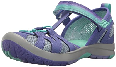 988bf0ea2a9 Merrell Girls' Hydro Monarch 2.0 Sandal, Blue, 11 Medium Infant