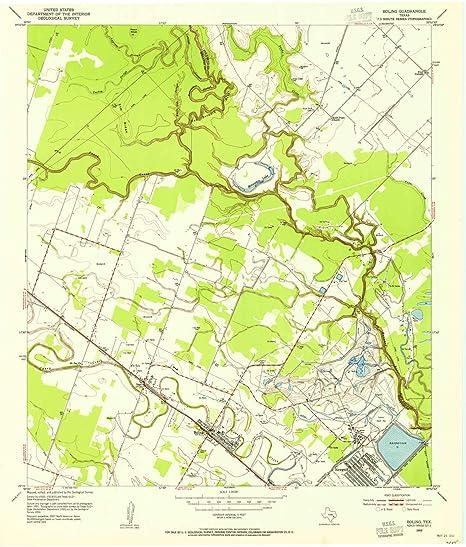 Amazon Com Yellowmaps Boling Tx Topo Map 1 24000 Scale
