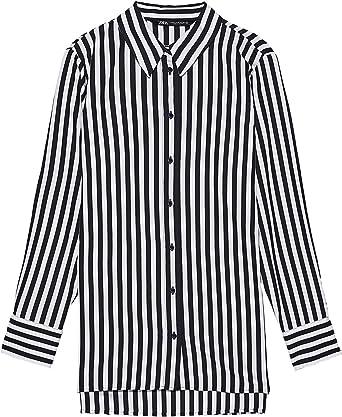 Zara 3564/182/064 - Camiseta de Manga Corta para Mujer ...
