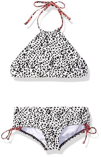 437a6813ebc3e Billabong Girls' Big Wild Roar High Neck Swim Set: Amazon.in ...