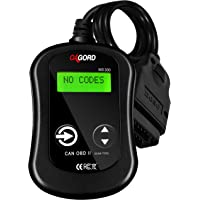 OBD2 Scanner CAN OBDII Code Reader - Scan Tool for Check Engine Light - Universal Diagnostic for Car, SUV, Truck and Van (MS300)