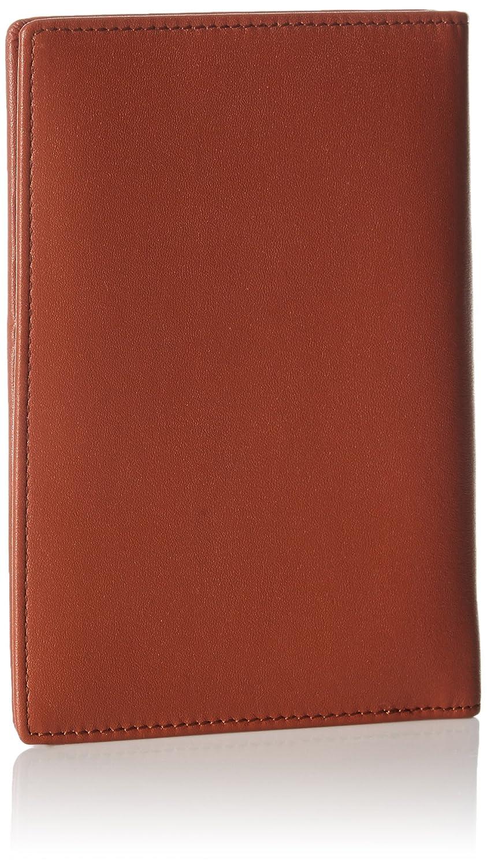 Basics Portefeuille anti-RFID en cuir pour passeport Bleu marine