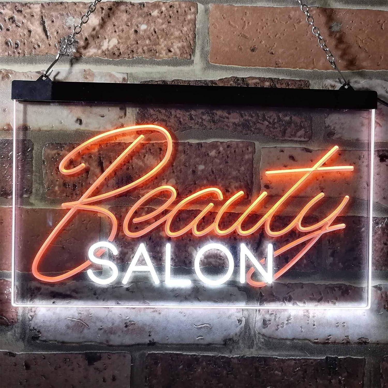 ADV PRO Beauty Salon Facial Waxing Display Dual Color LED Barlicht Neonlicht Lichtwerbung Neon Sign Blau /& Gelb 300 x 210mm st6s32-i0308-by