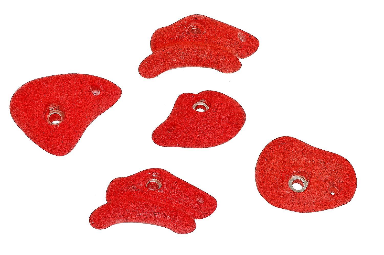 OTITU Just Fun Pierres d'escalade S (Set = 5 pièces) – Rouge