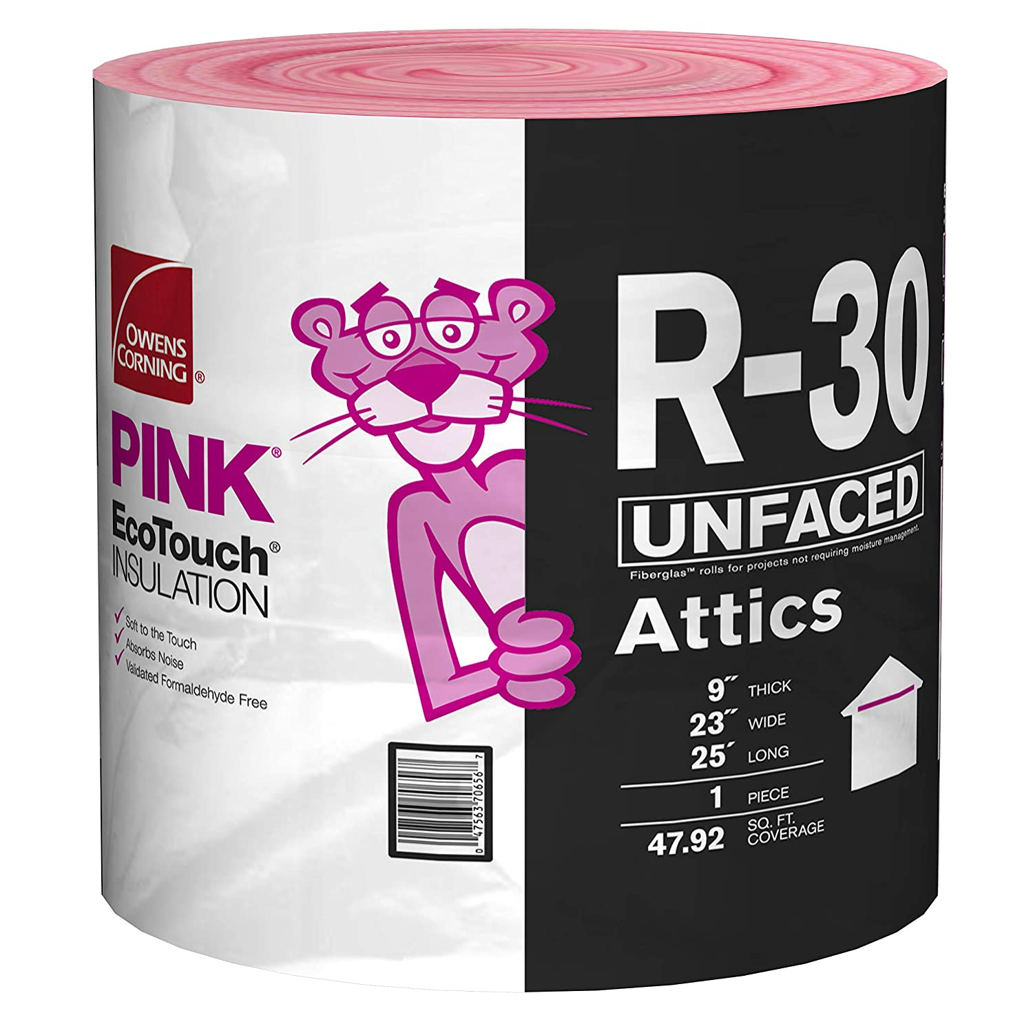 Owens Corning R-30 Fiberglass Insulation Roll