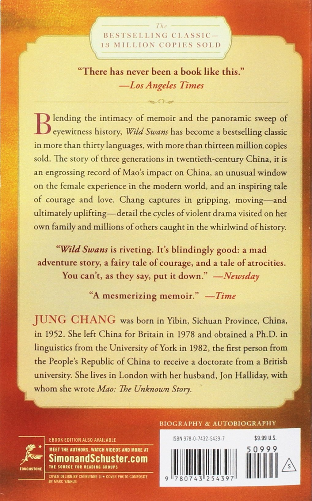 Wild Swans: Three Daughters Of China: Amazon: Jung Chang: Fremdsprachige  B�cher