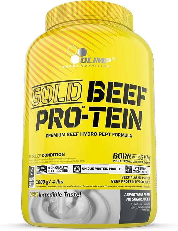 Olimp Sport Nutrition Proteínas de Carne, Sabor Arándanos - 1800 gr