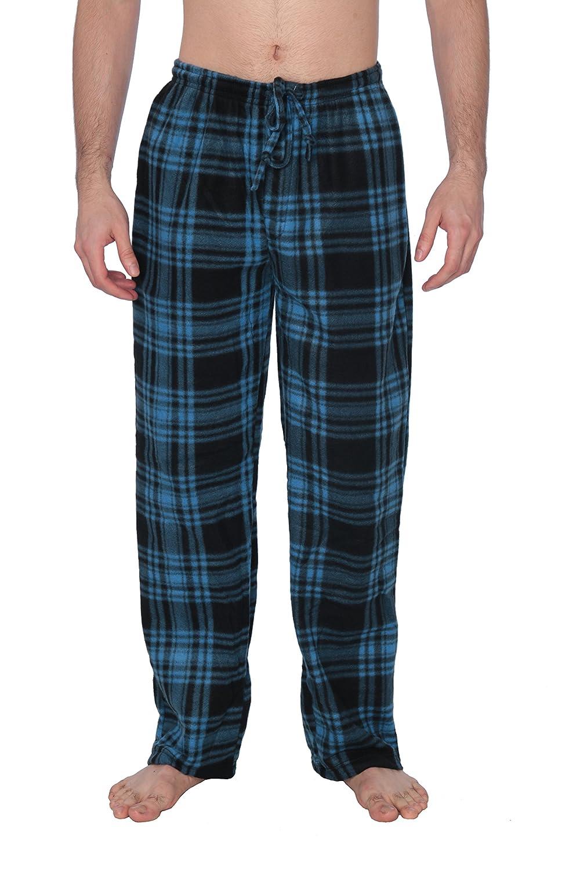 Active Club Men s PJ Pajama Fleece Lounge Plaid Bottoms Pants  Microfleece-12 Colors at Amazon Men s Clothing store  90352fc77