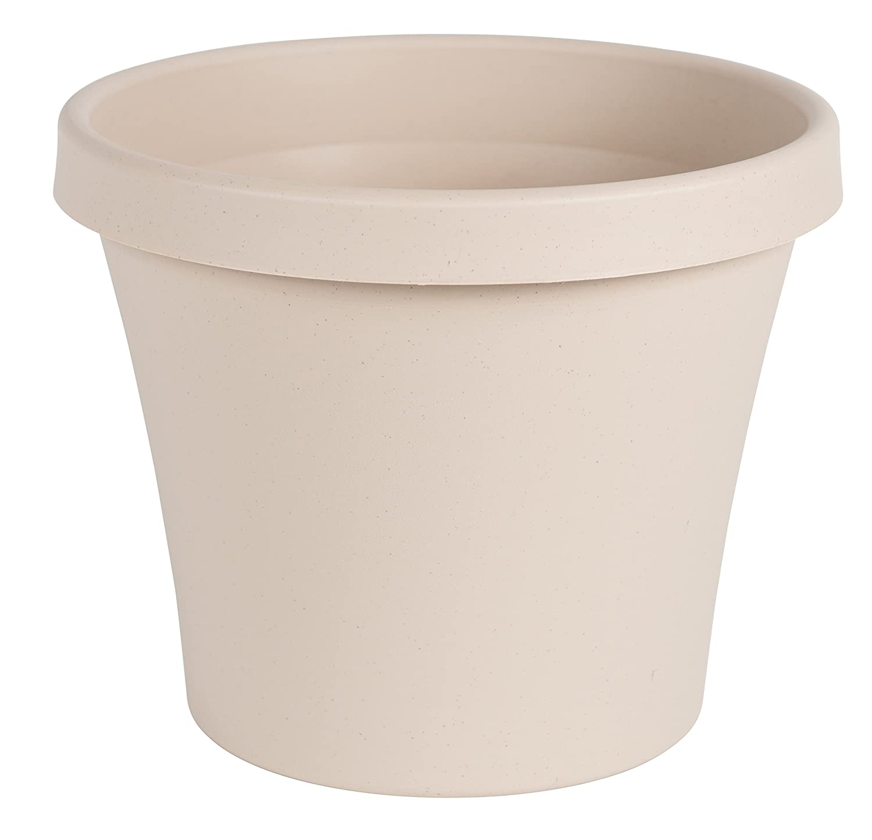 """Bloem Terra Pot Planter 12"""" Taupe"""
