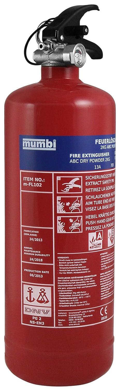 Feuerlöscher Vergleich mumbi m-FL102