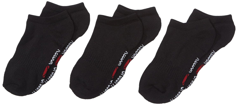 Reebok - Pack de 3 calcetines para crossfit (delgados, discretos), unisex, color negro - negro, tamaño talla 3-5: Amazon.es: Deportes y aire libre