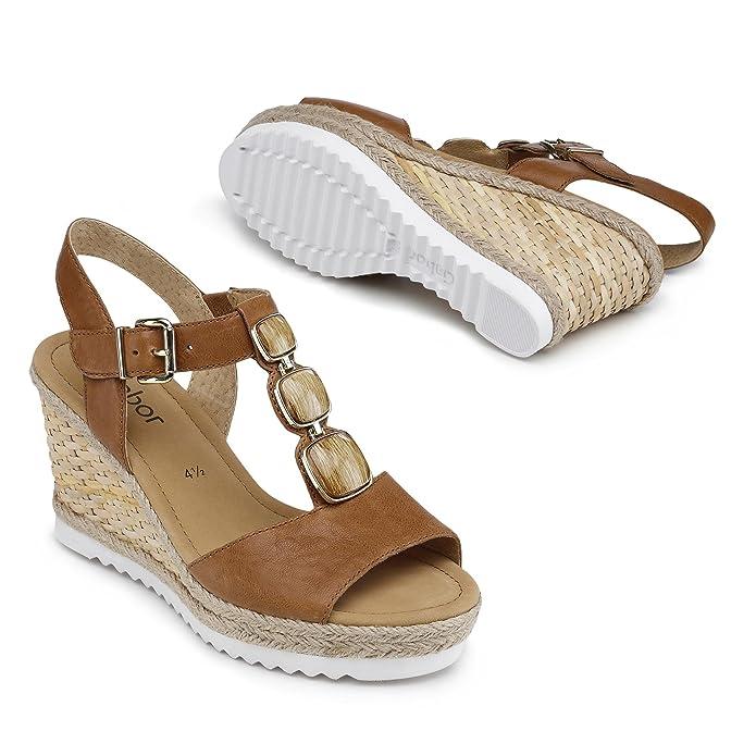 Gabor Fashion Damenschuhe 45.792.24 Damen Sandalette Sandale